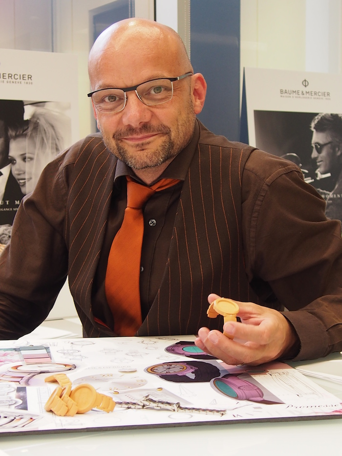 Baume & Mercier design director Alexandre Peraldi discusses the design inspiration for Promesse