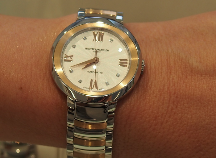 Baume & Mercier Promesse in two tone