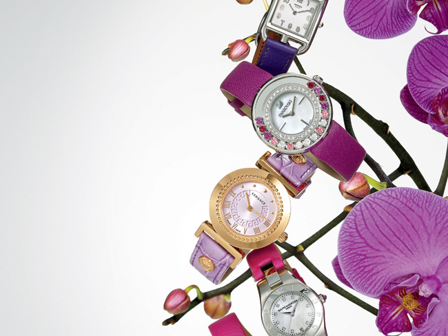 Orchid watches (Photo by Jeff Crawford)