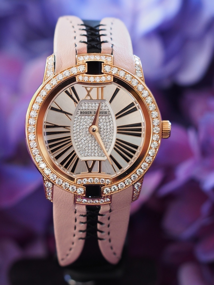Roger Dubuis Velvet Haute Couture Corsetry watch
