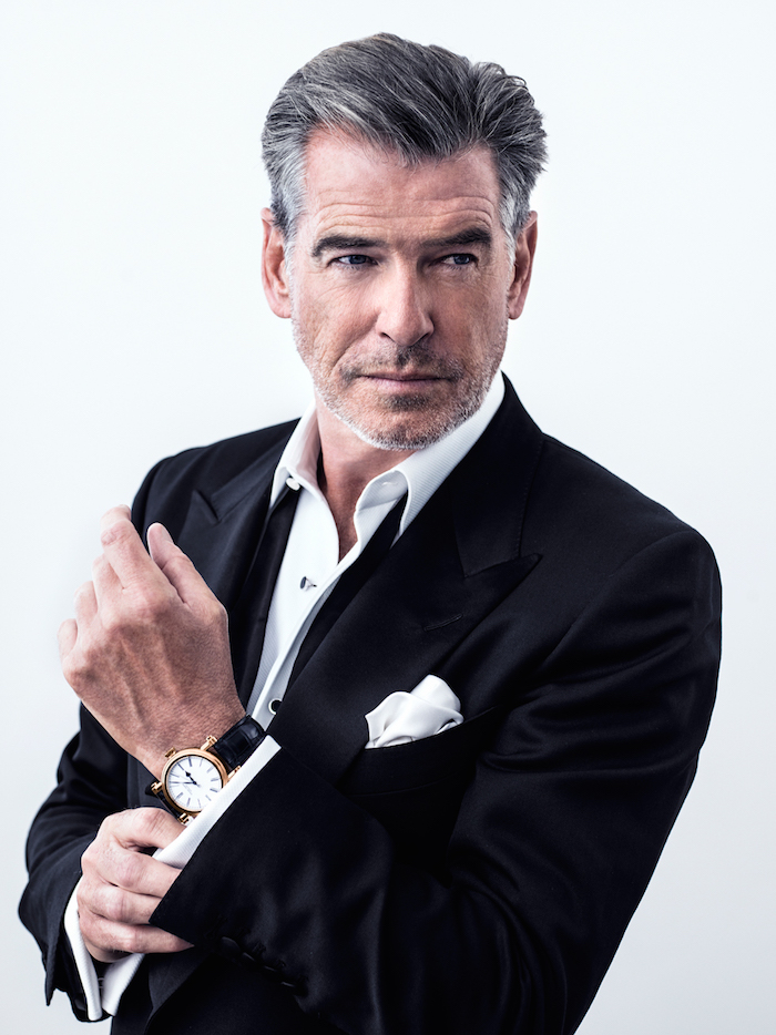 Pierce Brosnan (photo© Marco Grob for Speake-Marin.