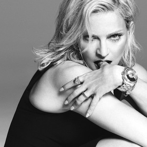 Madonna in Versace ad