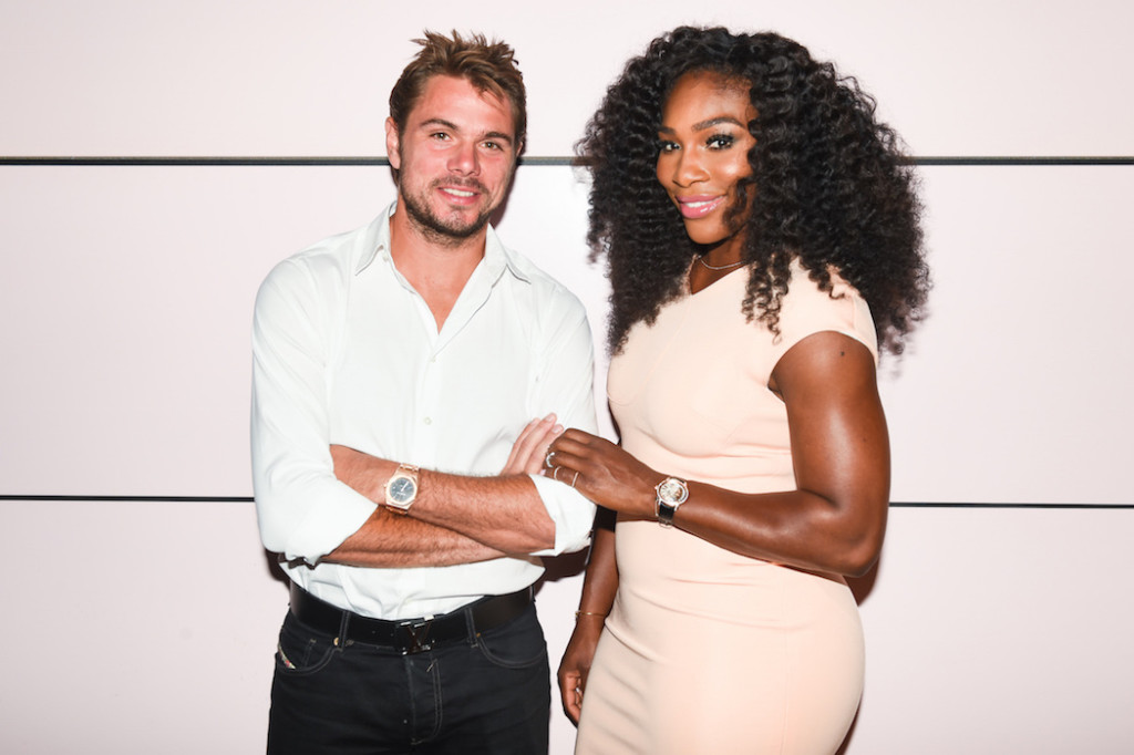 Stan Wawrinka, Serena Williams -- both Audemars Piguet brand ambassadors