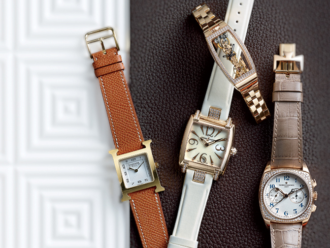 Art Deco styled watches; Photo: Jeff Crawford, Niche Media