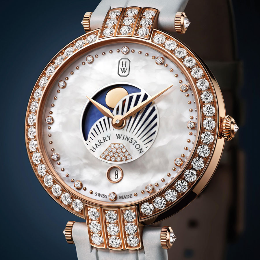 Harry Winston Premier Moonphase 36