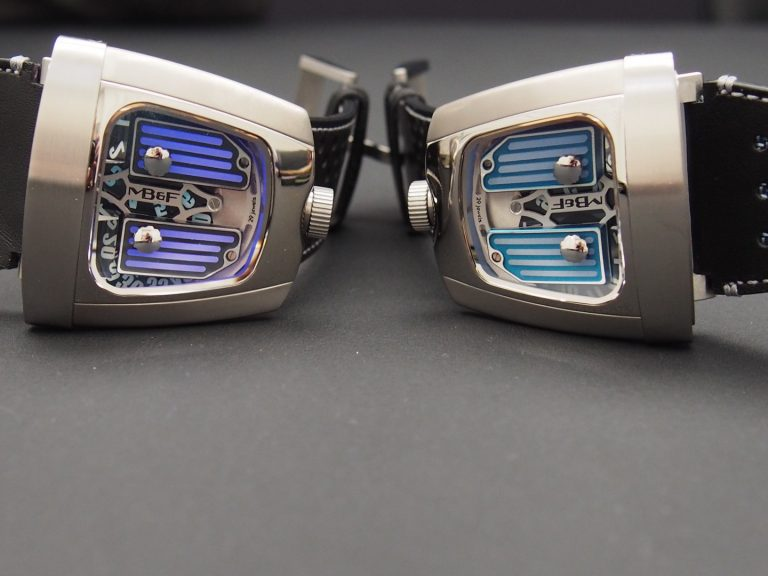 MB&F HMX Black Badger in the light (photo: R.Naas)