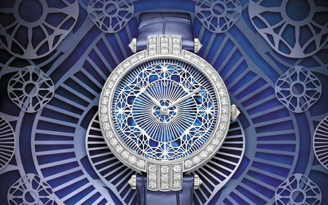 Harry Winston Weaves a Premier Story in Fabric and Mother of Pearl