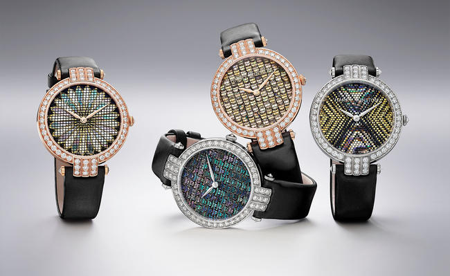 Harry Winston Premier Precious Weaving Automatic watches