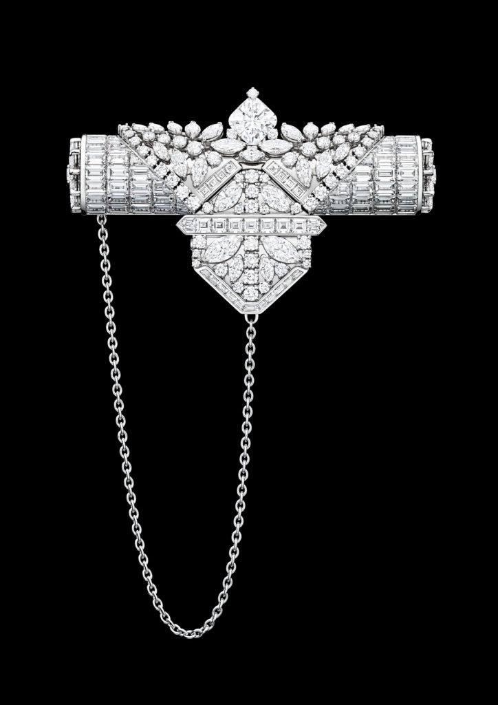 The Harry Winston My Precious Time is a secret watch set with 12+ carats of diamonds