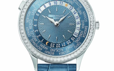 Women Who Want the World at their Feet (or Wrist) May Want this New Patek Philippe World Time Watch