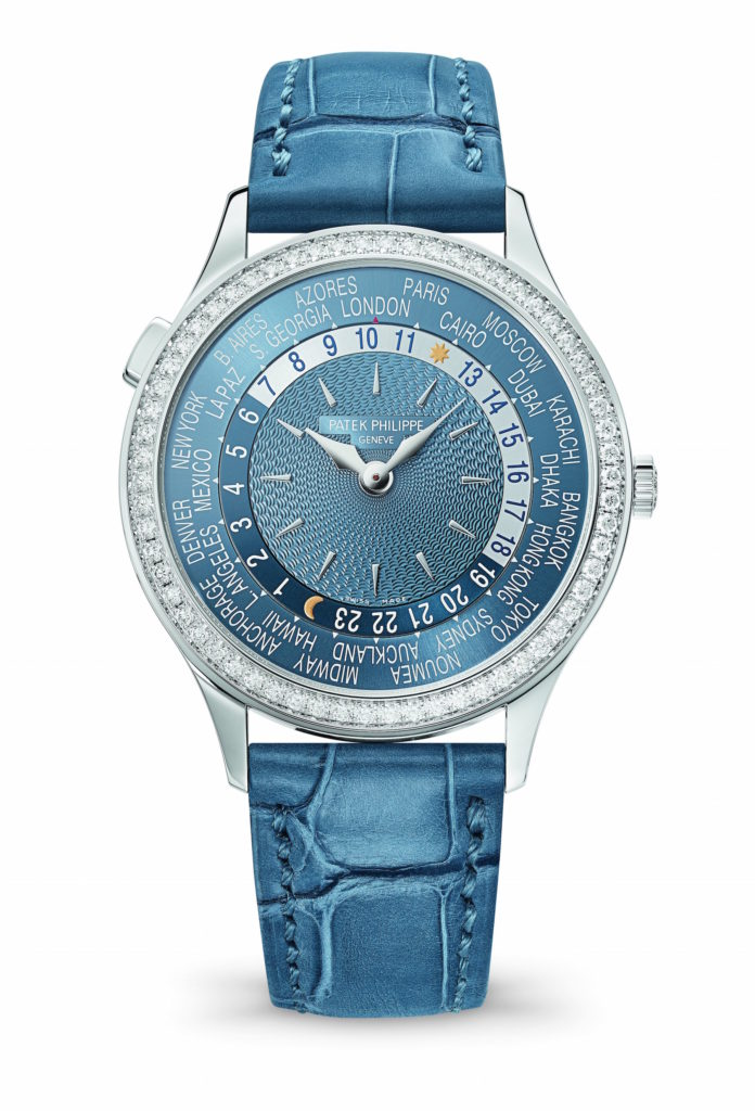 Patek Philippe women's World Time watch, being unveiled at Baselworld 2017.