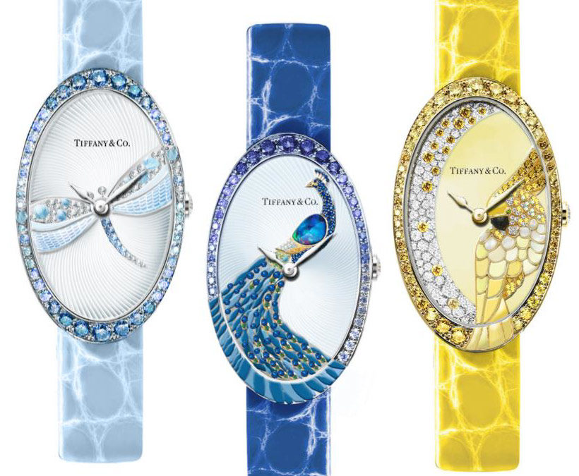 Tiffany & Co. Unveils Blue Book Watches for 2017