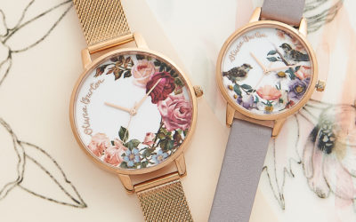 Movado Group Buys Olivia Burton Brand of Watches and Jewelry, Flowers and Bees Continue