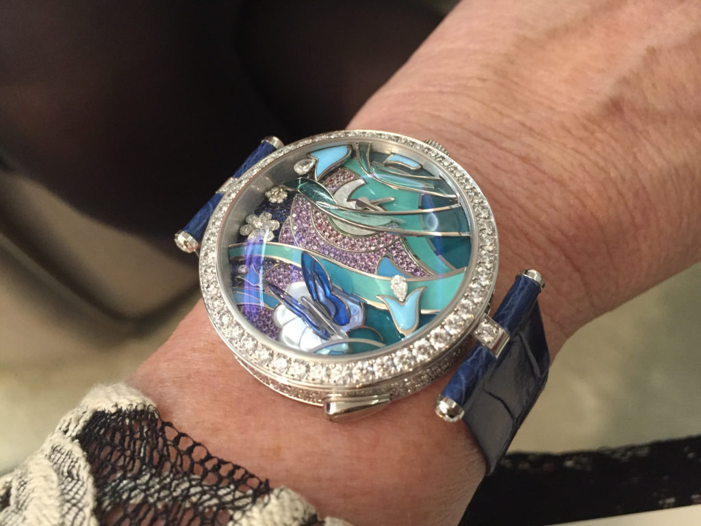 Van Cleef & Arpels Lady Arpels Papillion Automate Watch