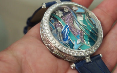 Time is  Aflutter With the Van Cleef & Arpels Lady Arpels Papillion Automate Watch