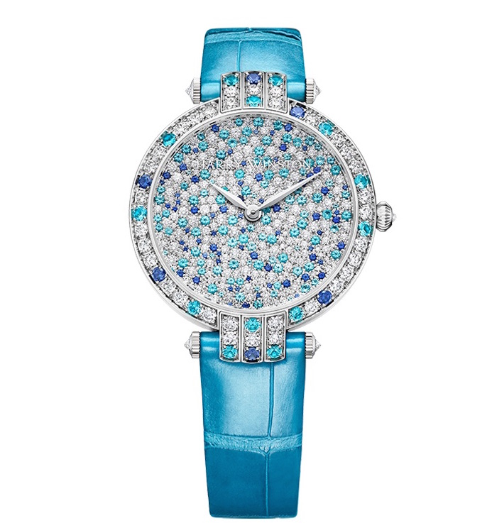 Harry Winston Premier Blooming Snowflake 36mm watch