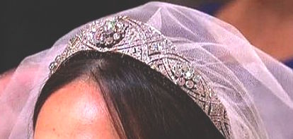 The tiara worn by Megan Markle at the Royal Wedding consists of 11 different sections including a brooch that dates back to 1893.